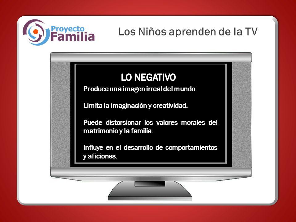Los Niños aprenden de la TV
