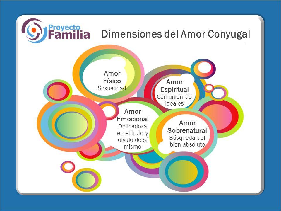 Dimensiones del Amor Conyugal