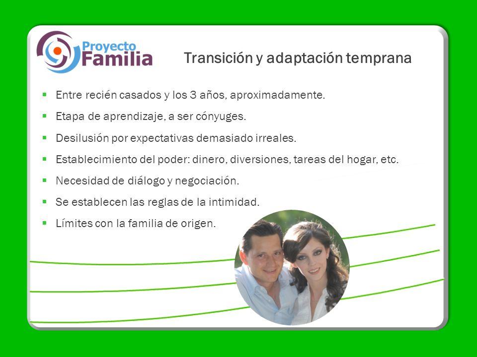 Transición y adaptación temprana