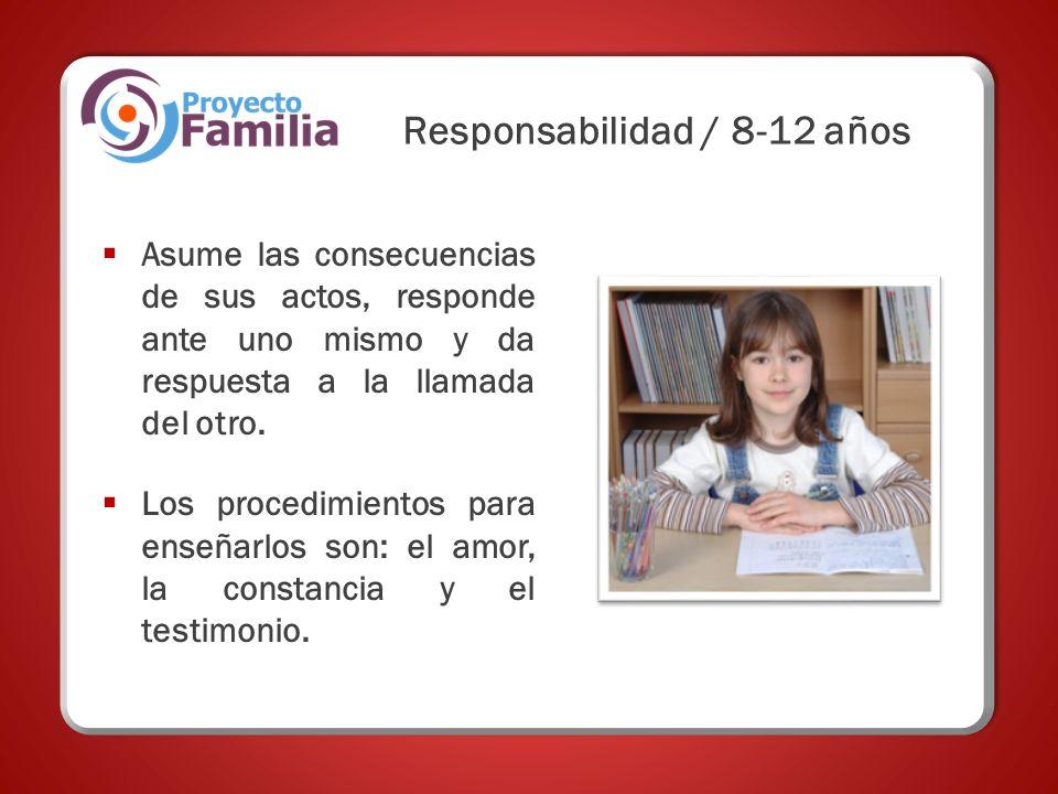 Responsabilidad / 8-12 años