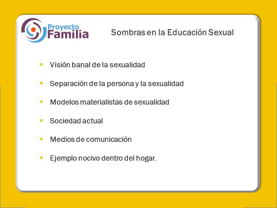 Sombras en la Educación Sexual