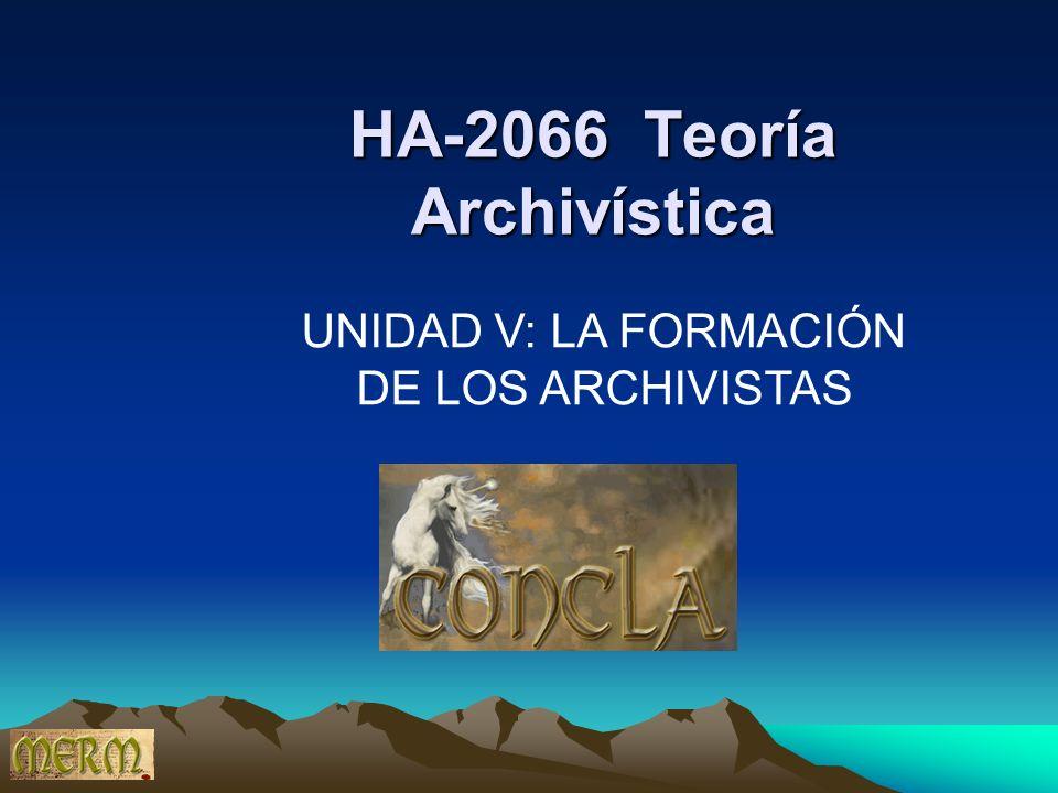 HA-2066 Teoría Archivística