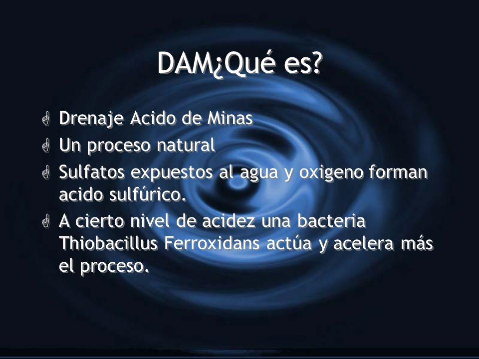 DAM¿Qué es Drenaje Acido de Minas Un proceso natural