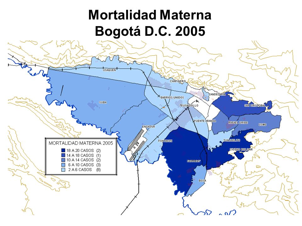 Mortalidad Materna Bogotá D.C. 2005