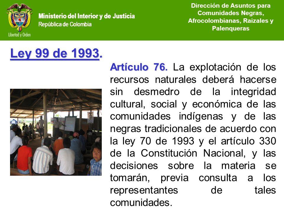 Dirección de Asuntos para Comunidades Negras, Afrocolombianas, Raizales y Palenqueras