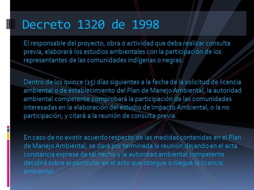 Decreto 1320 de 1998
