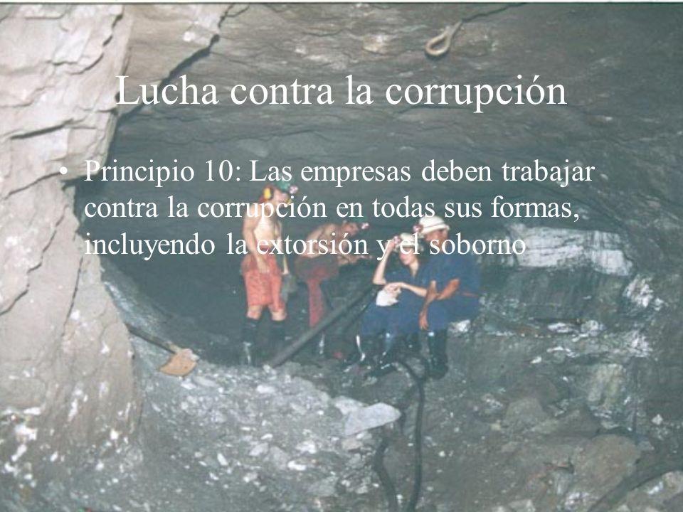 Lucha contra la corrupción