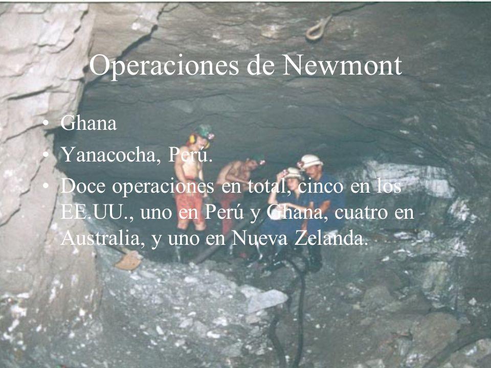 Operaciones de Newmont