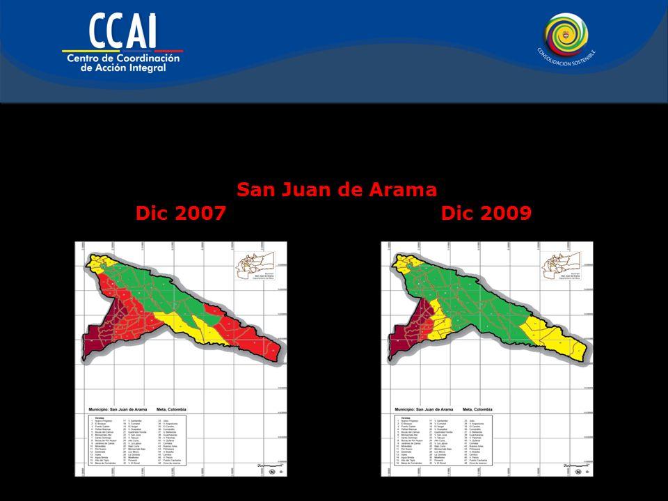 San Juan de Arama Dic 2007 Dic 2009