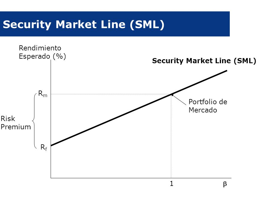 Security Market Line (SML)