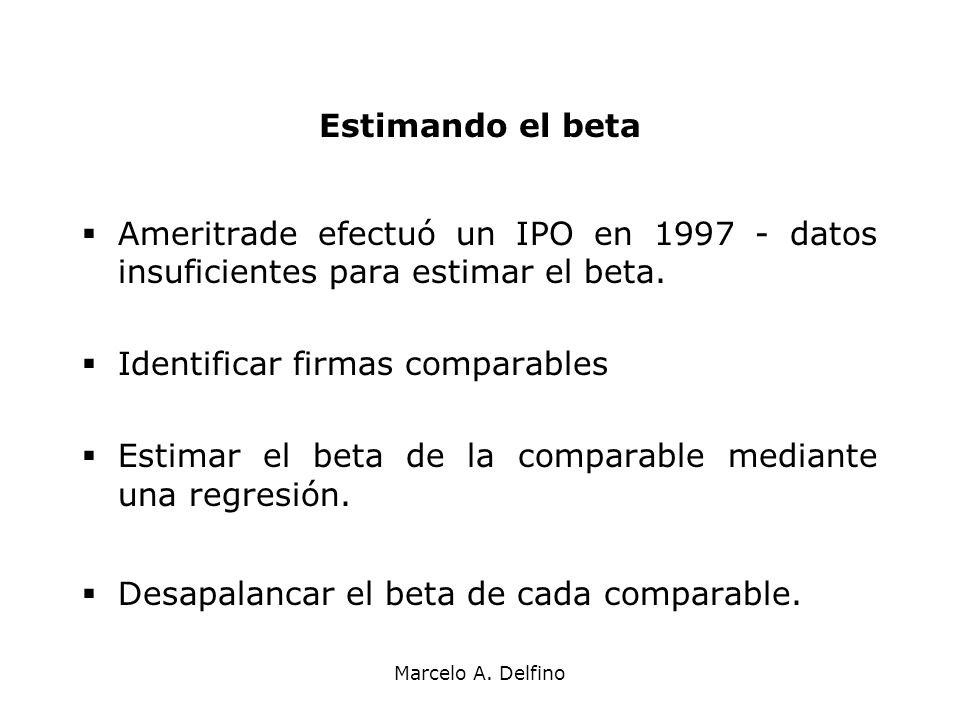 Identificar firmas comparables