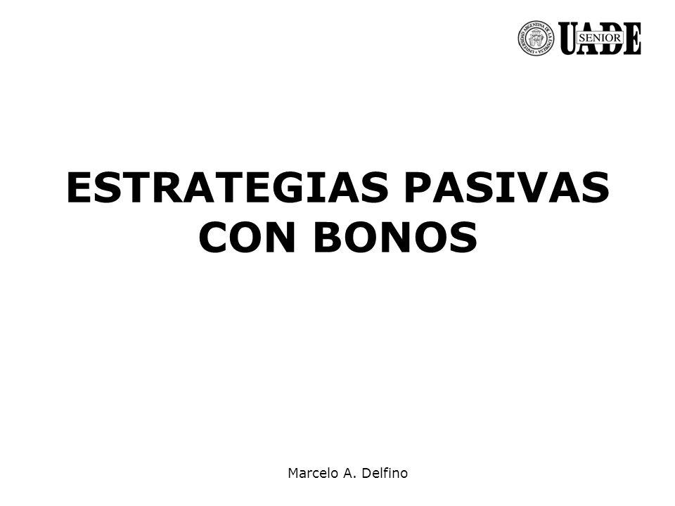 ESTRATEGIAS PASIVAS CON BONOS