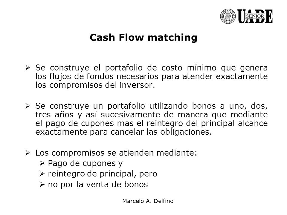 Cash Flow matching