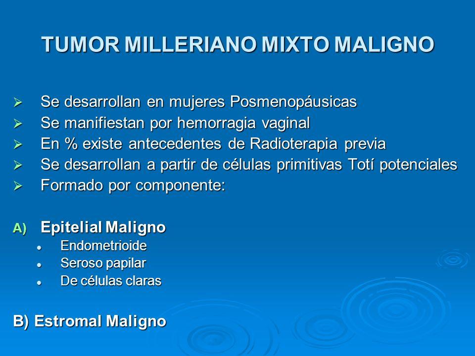 TUMOR MILLERIANO MIXTO MALIGNO