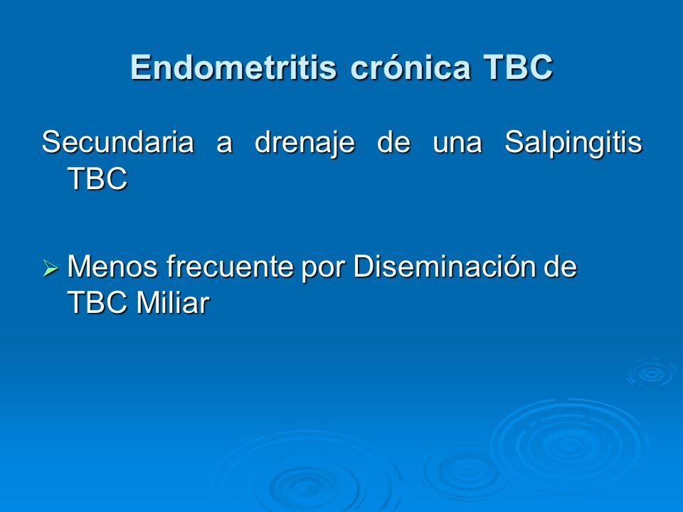 Endometritis crónica TBC