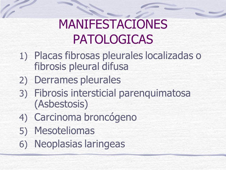 MANIFESTACIONES PATOLOGICAS