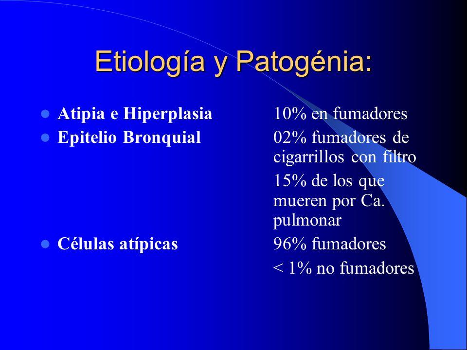 Etiología y Patogénia: