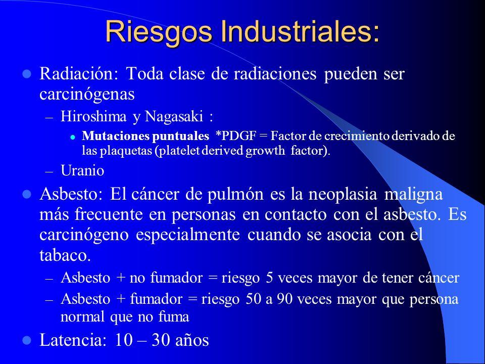 Riesgos Industriales: