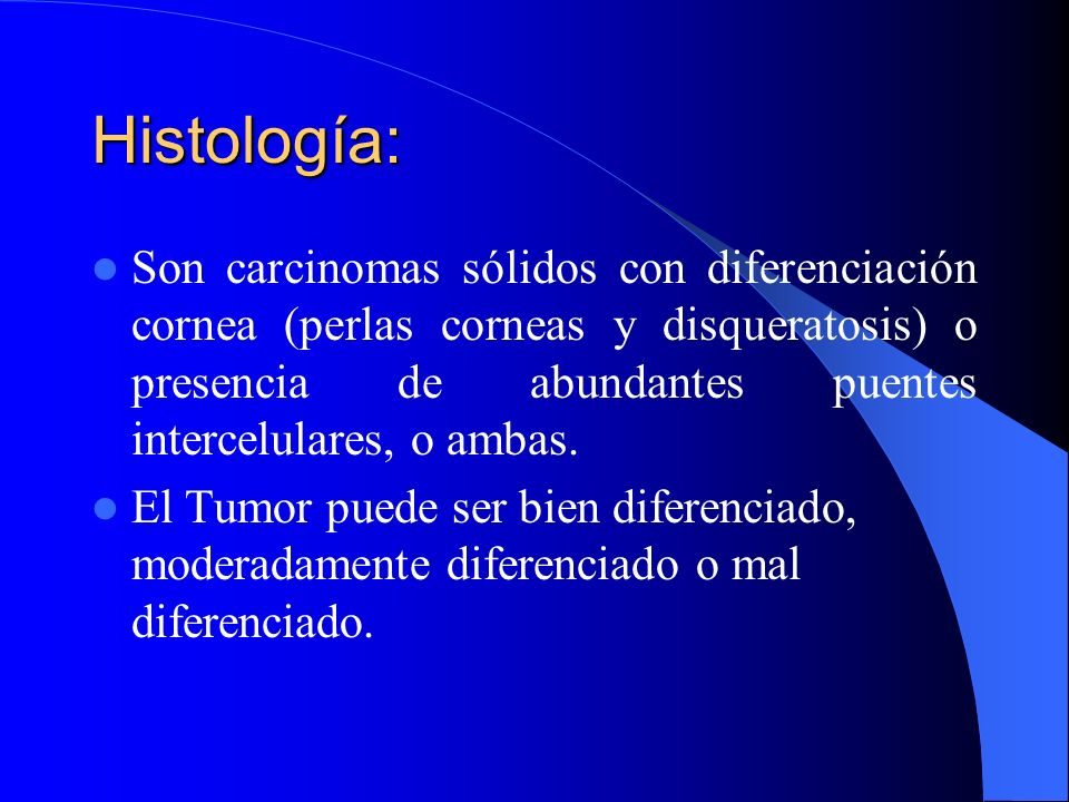 Histología: