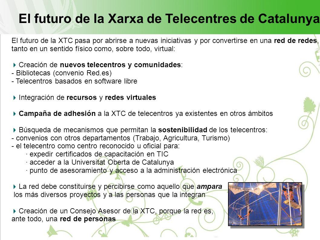 El futuro de la Xarxa de Telecentres de Catalunya