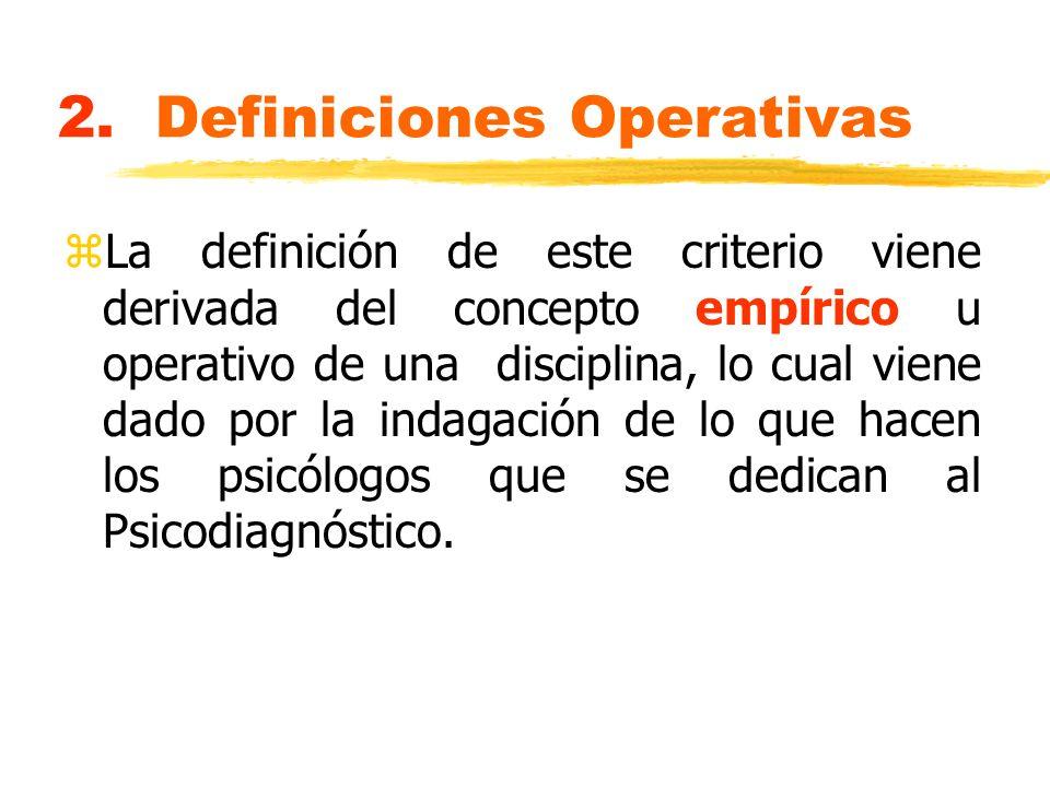 2. Definiciones Operativas