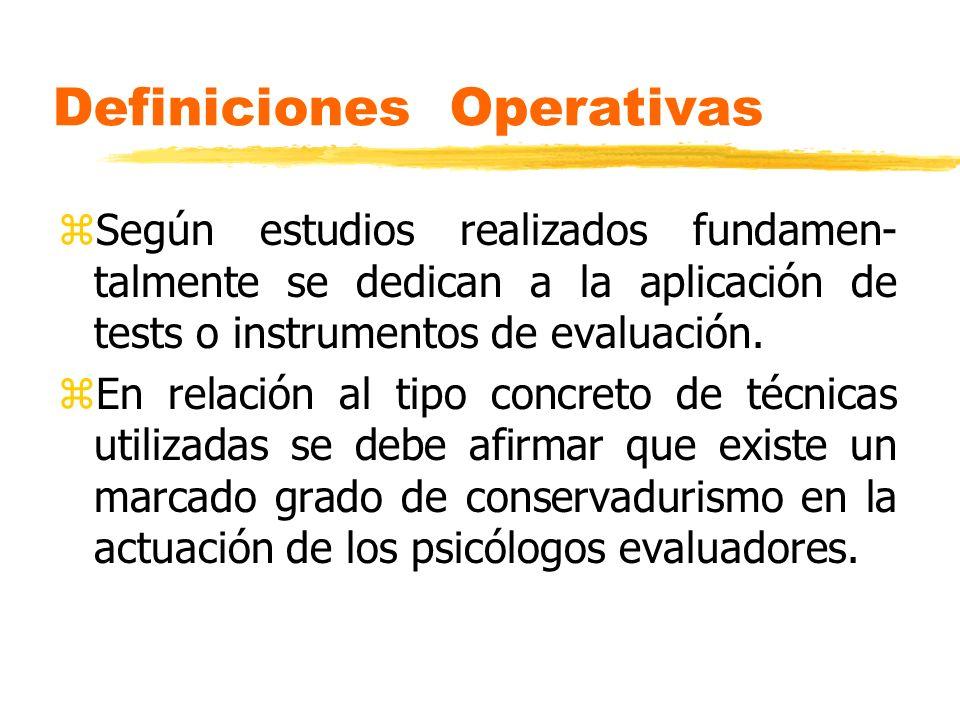 Definiciones Operativas