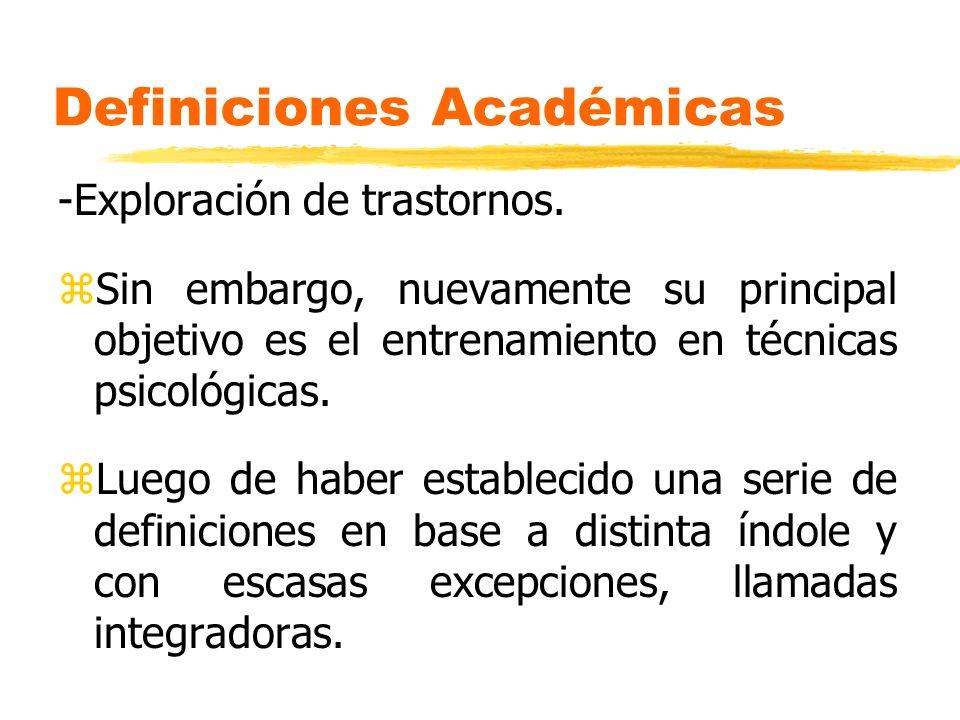 Definiciones Académicas