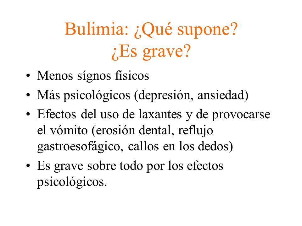 Bulimia: ¿Qué supone ¿Es grave