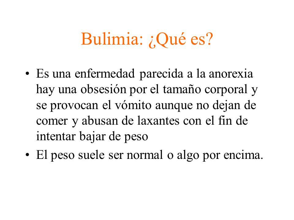 Bulimia: ¿Qué es