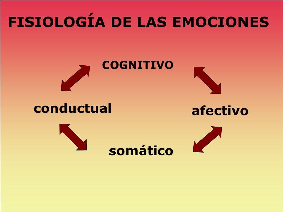 FISIOLOGÍA DE LAS EMOCIONES