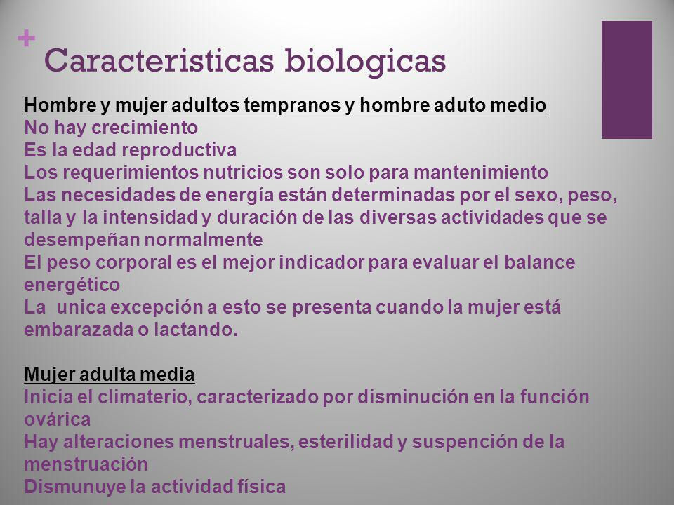 Caracteristicas biologicas