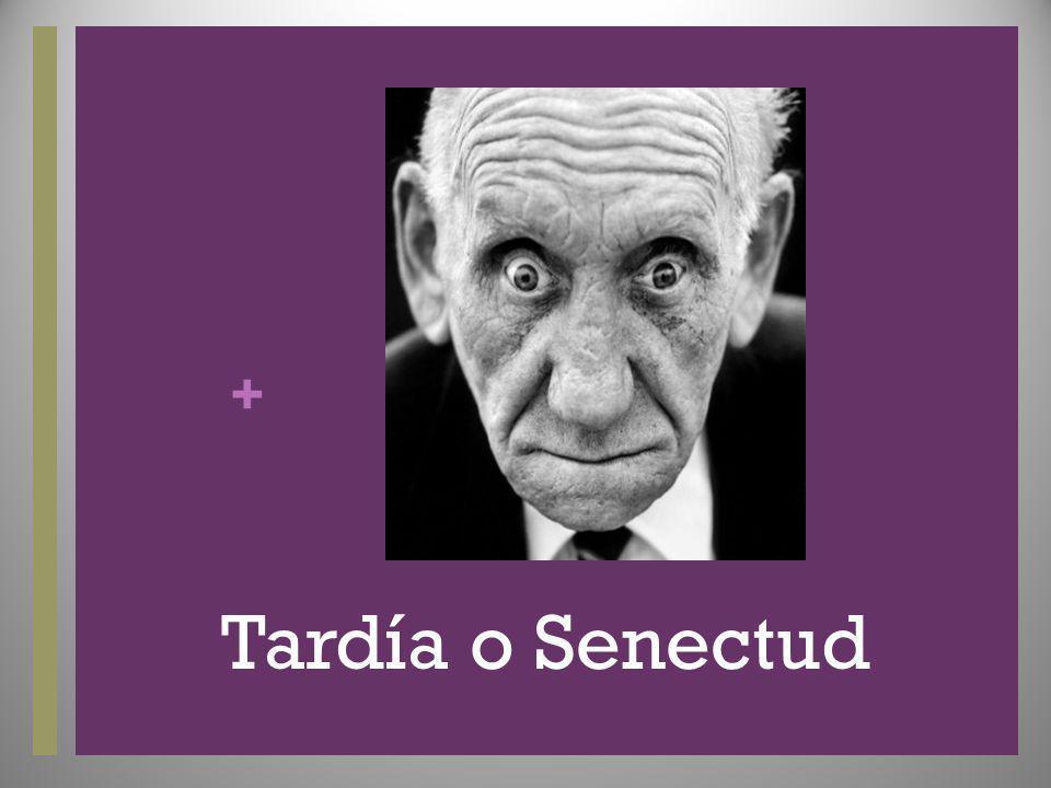 Tardía o Senectud