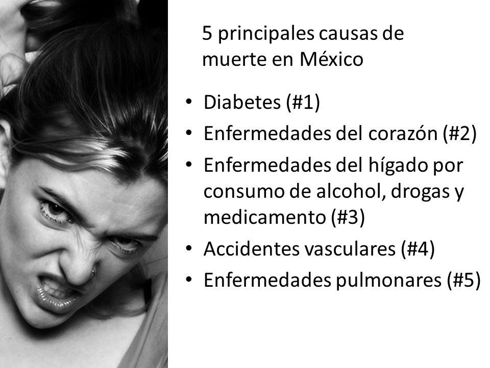 5 principales causas de muerte en México