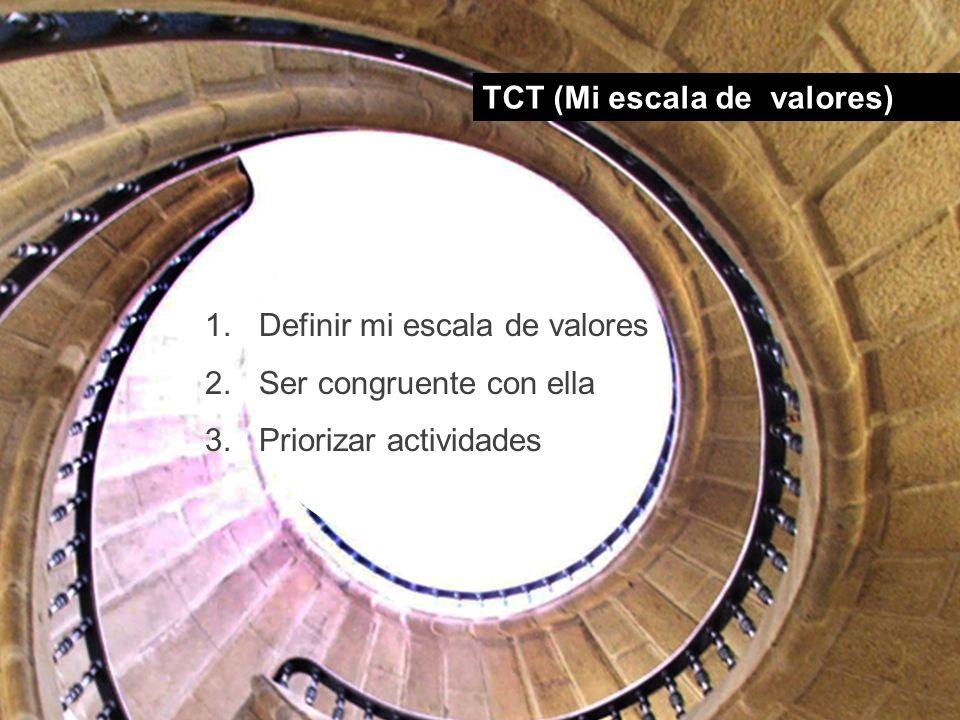 TCT (Mi escala de valores)