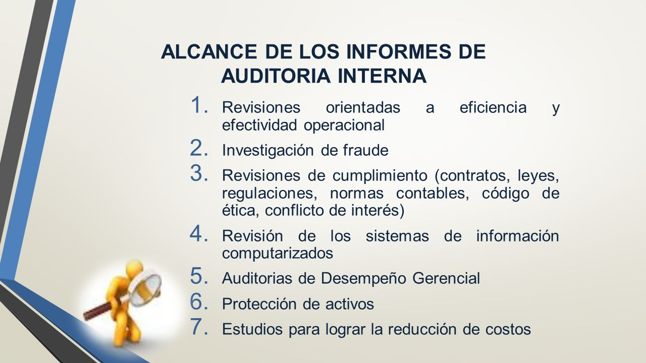 Informe del auditor interno comunicaci n de resultados Modelo contrato empleada de hogar interna