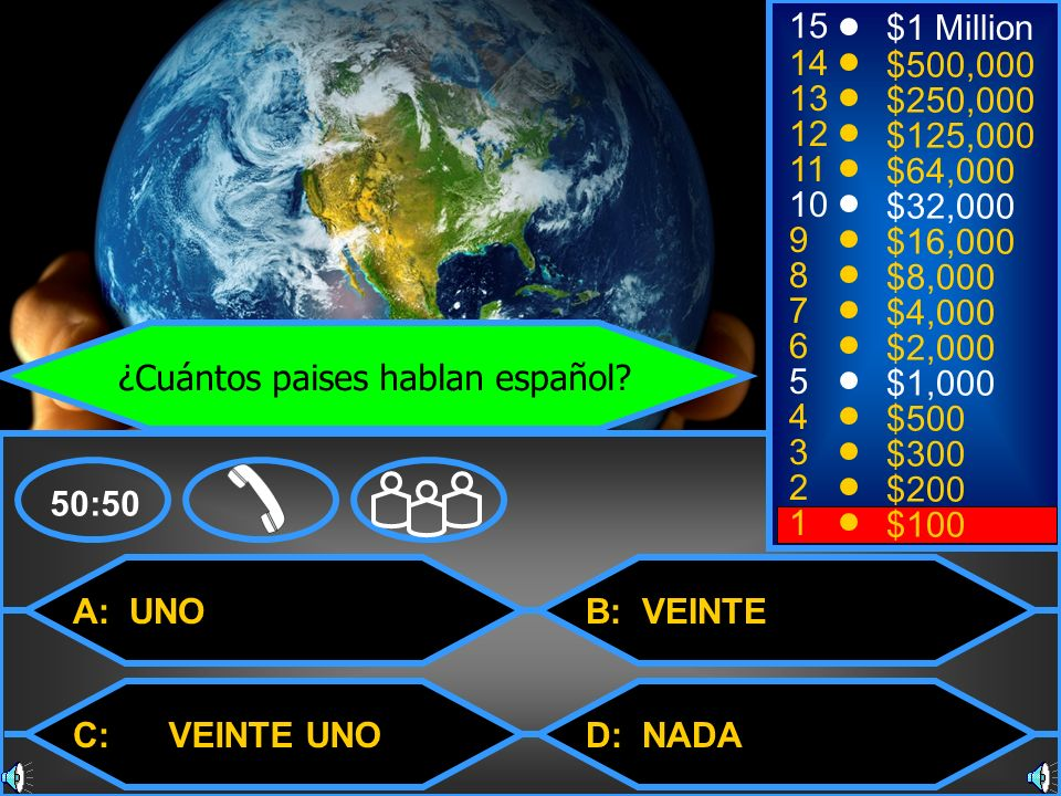 ¿Cuántos paises hablan español