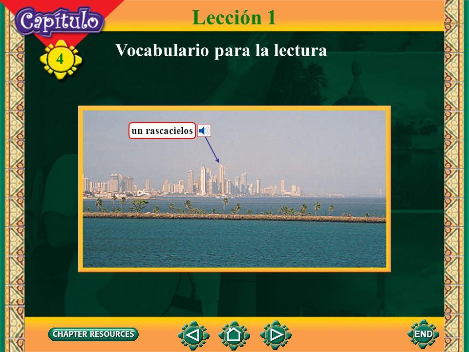 Lección 1 Vocabulario para la lectura un rascacielos