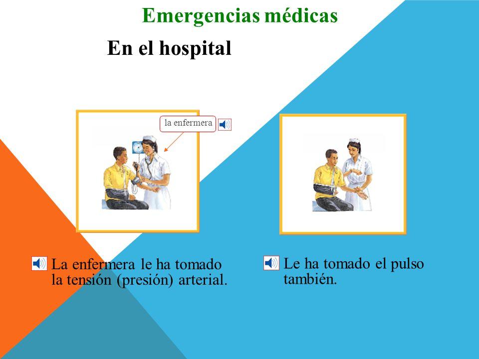 Emergencias médicas En el hospital