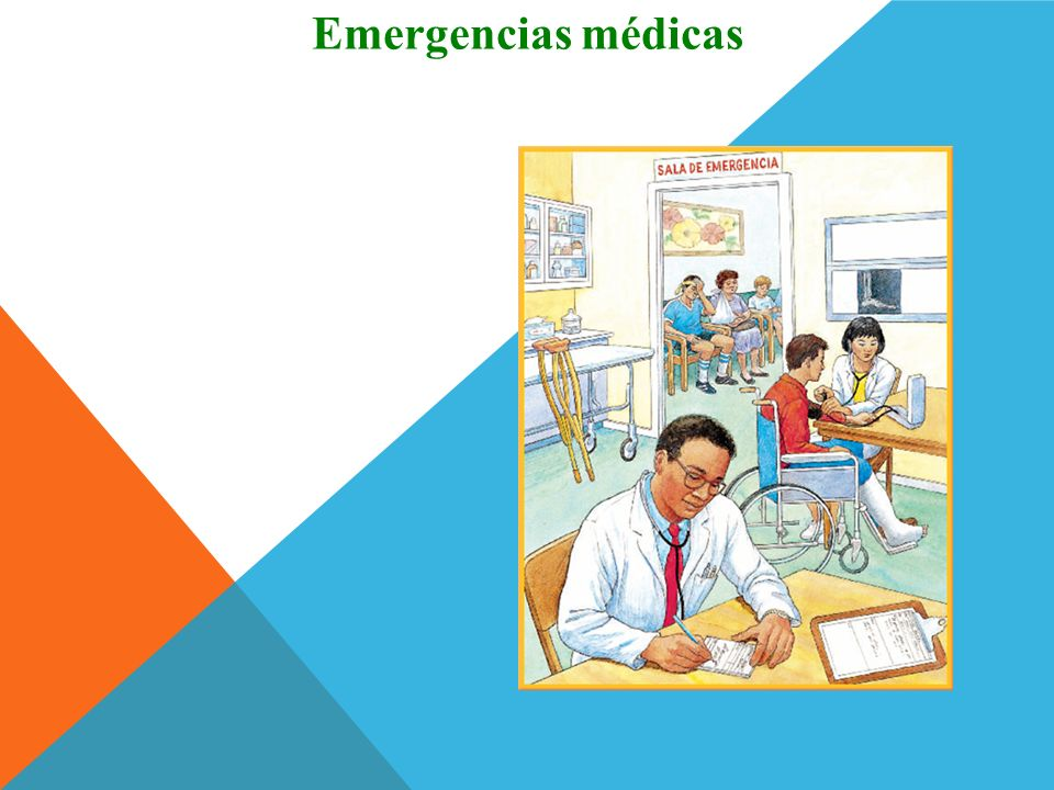 Emergencias médicas ¡Hablo como un pro!