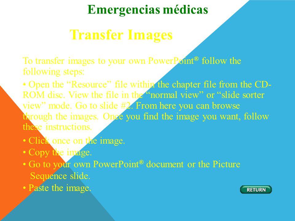 Transfer Images Emergencias médicas