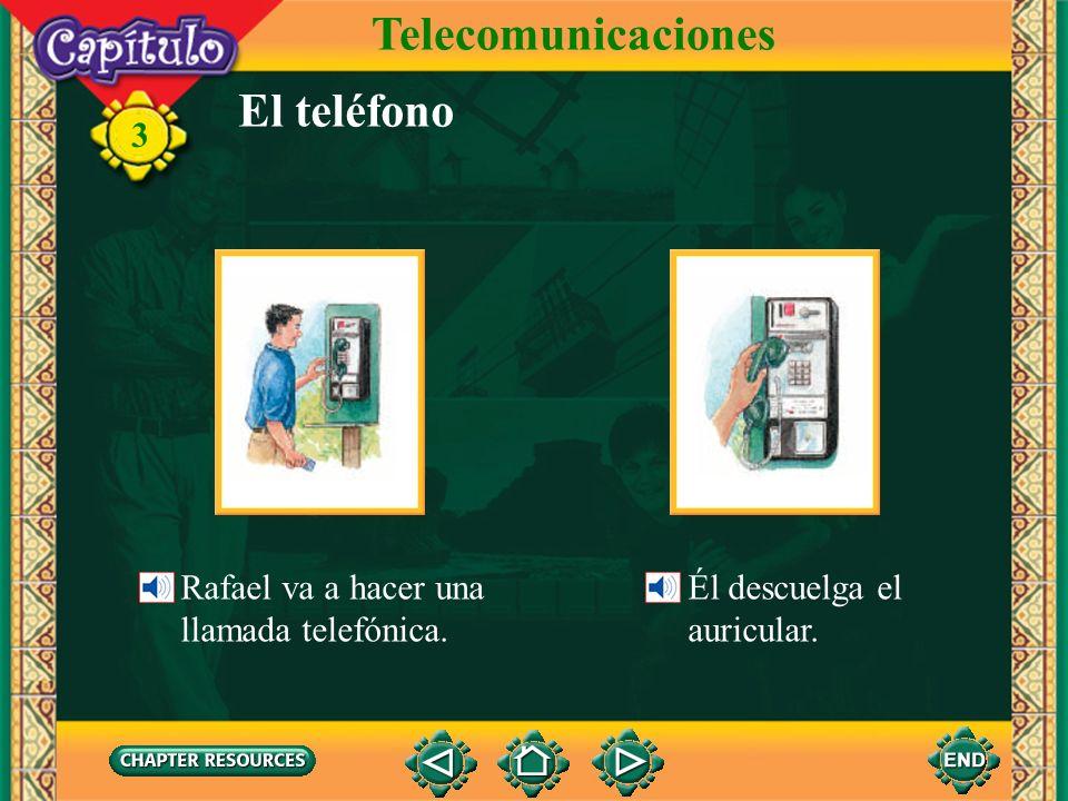 Telecomunicaciones El teléfono