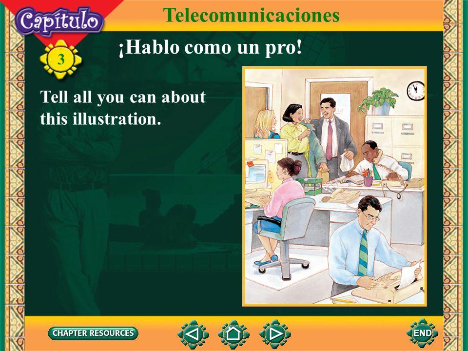 Telecomunicaciones ¡Hablo como un pro!