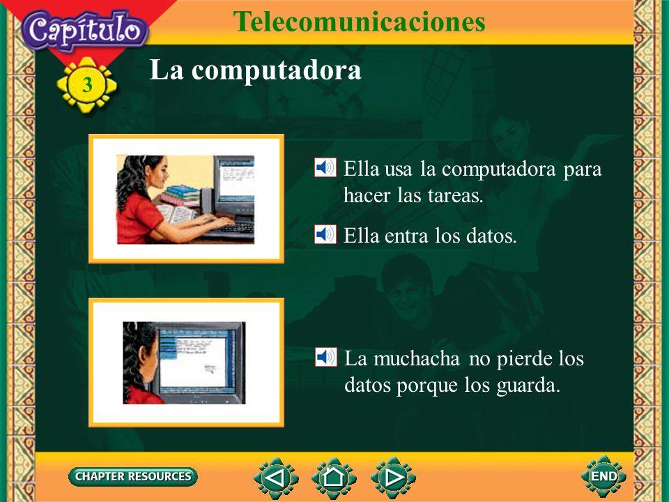 Telecomunicaciones La computadora
