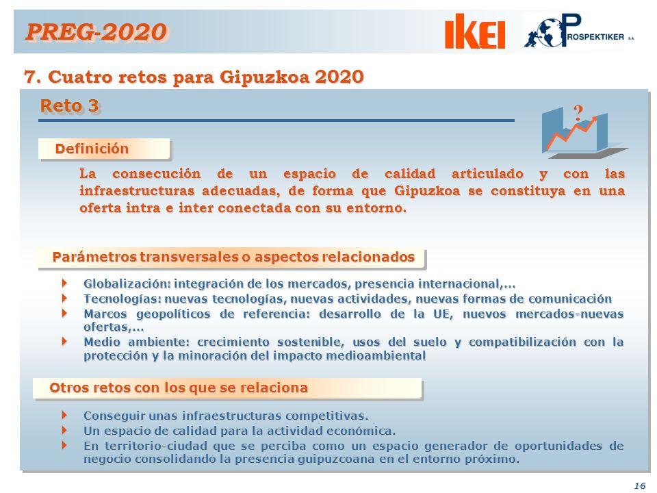 PREG-2020 7. Cuatro retos para Gipuzkoa 2020 Reto 3