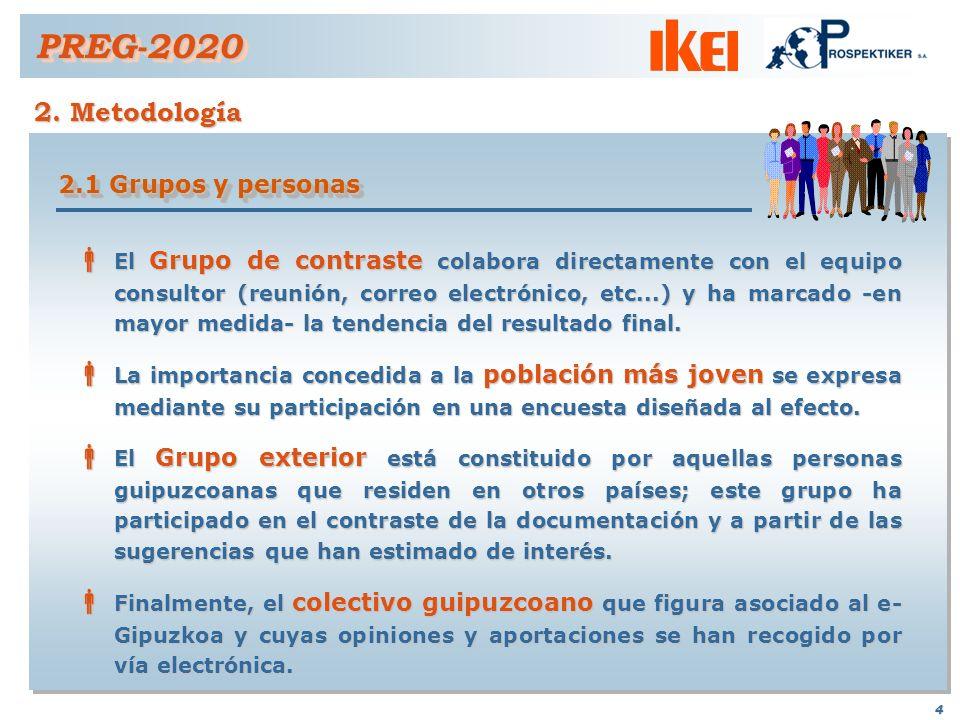 PREG-2020 2. Metodología 2.1 Grupos y personas
