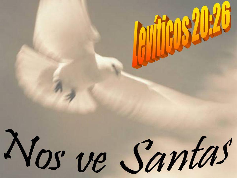 Levíticos 20:26 Nos ve Santas