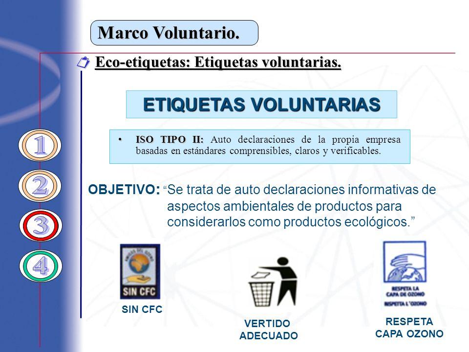 ETIQUETAS VOLUNTARIAS