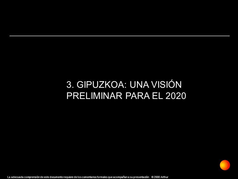 3. GIPUZKOA: UNA VISIÓN PRELIMINAR PARA EL 2020