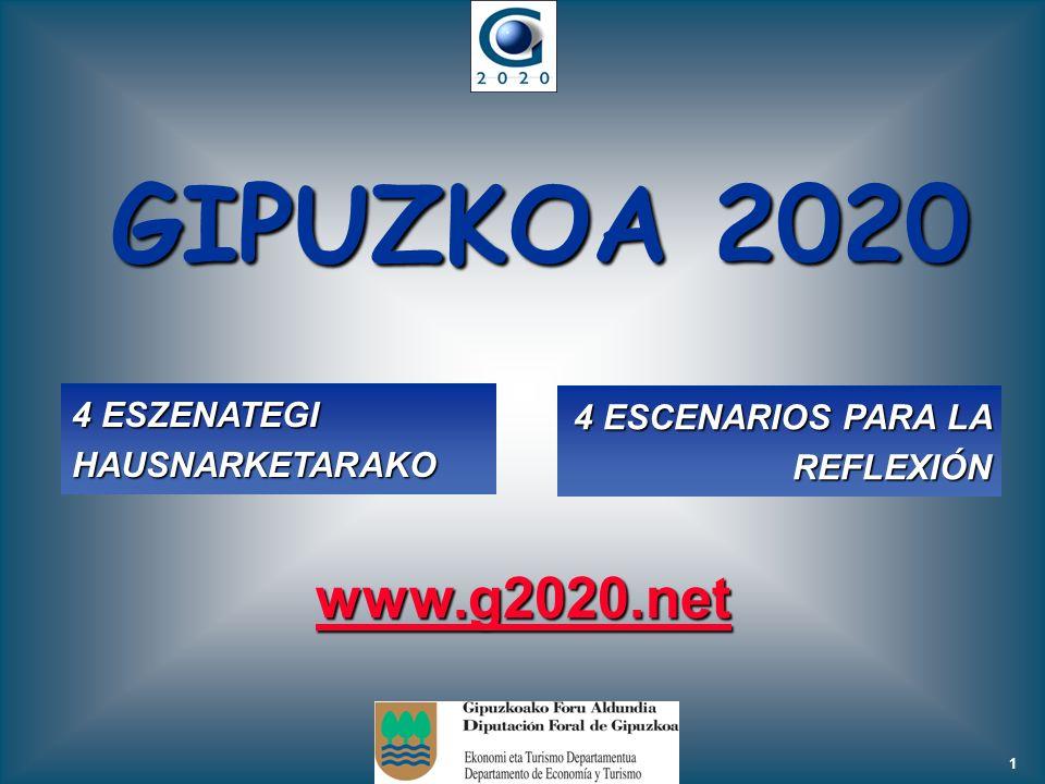 GIPUZKOA 2020 www.g2020.net 4 ESZENATEGI HAUSNARKETARAKO