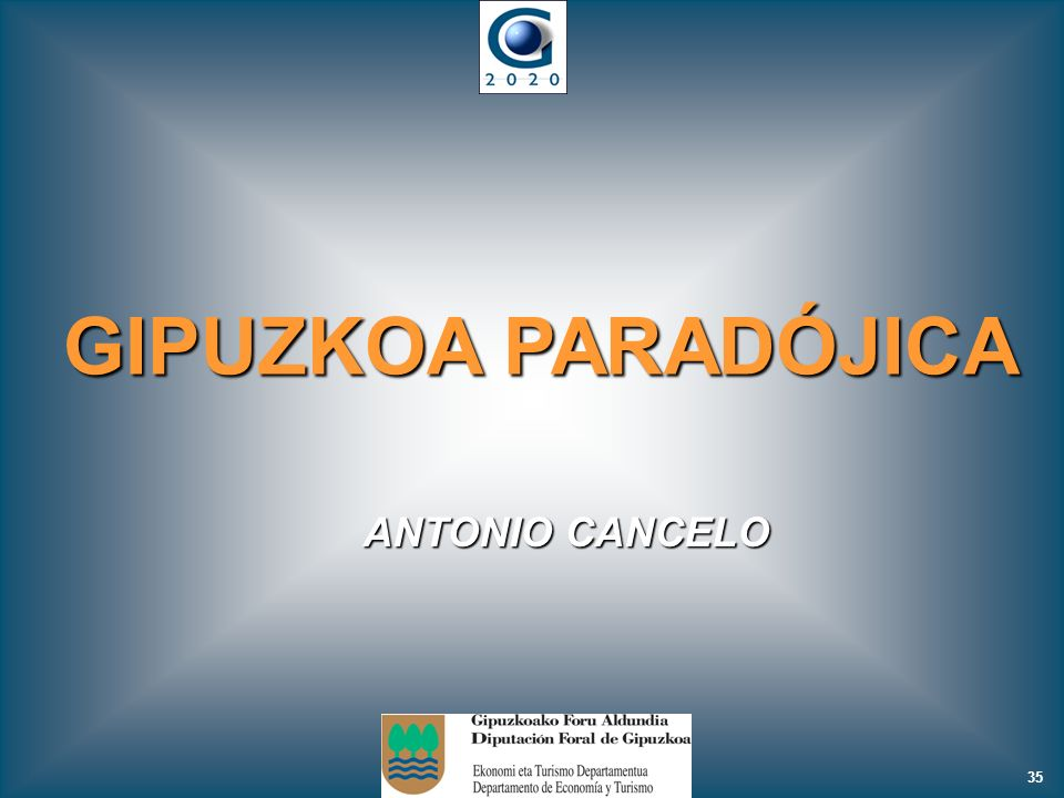 GIPUZKOA PARADÓJICA ANTONIO CANCELO